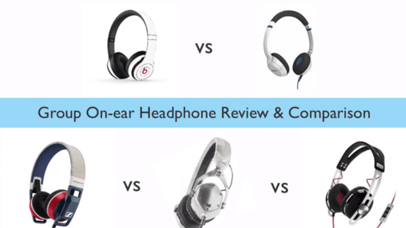 group on ear headphone review and comparison