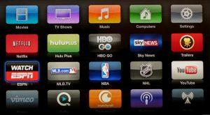 Apple TV 4K App Store